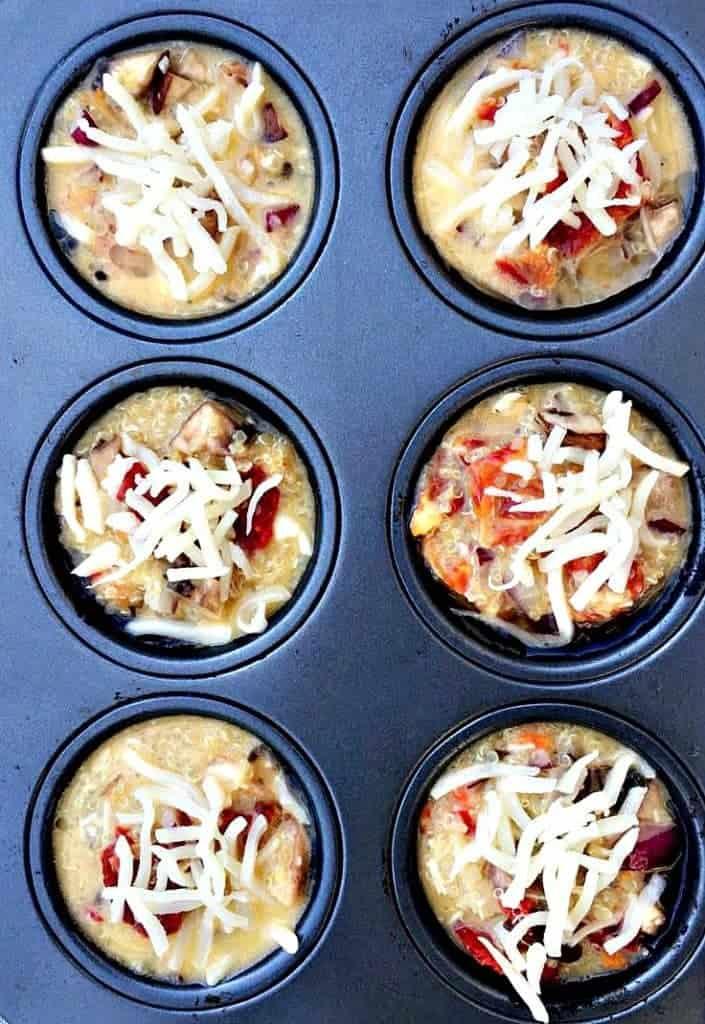 Quinoa Omelet Muffins