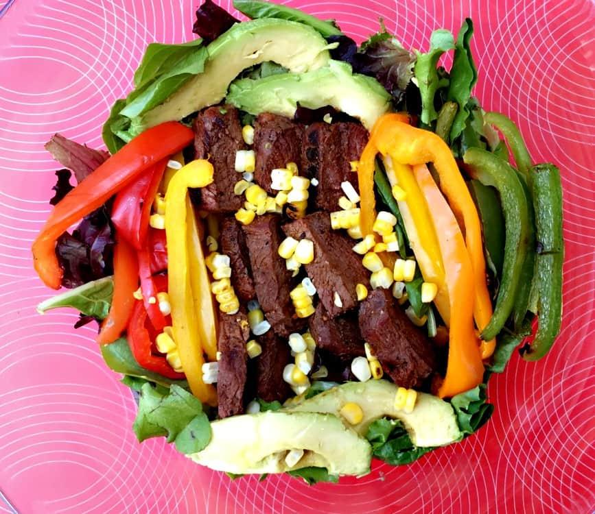 Fajita Steak Salad