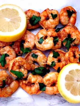 Low-Carb Keto Smoky Spicy Shrimp