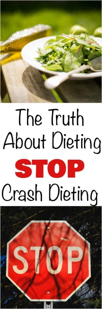 the truth about dieting stop crash dieting