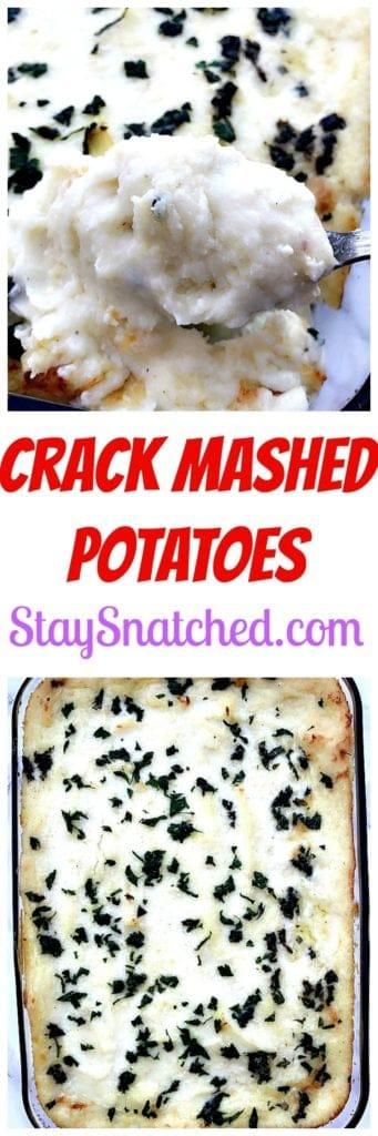 crack mashed potatoes