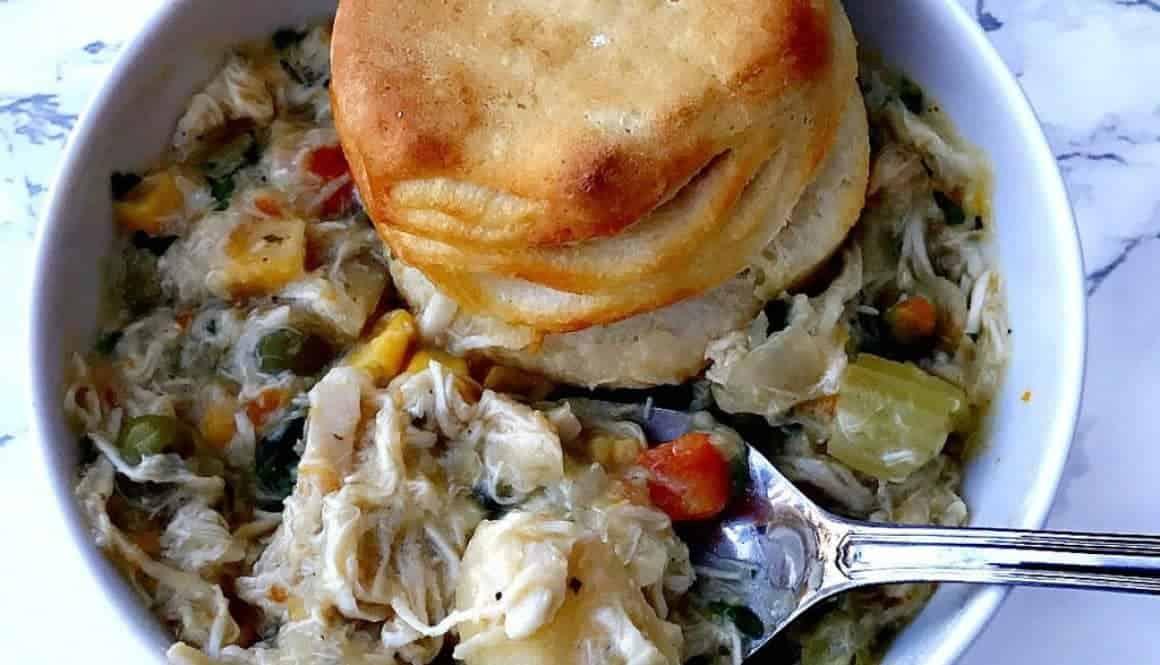 Slow-Cooker Chicken Pot Pie Soup