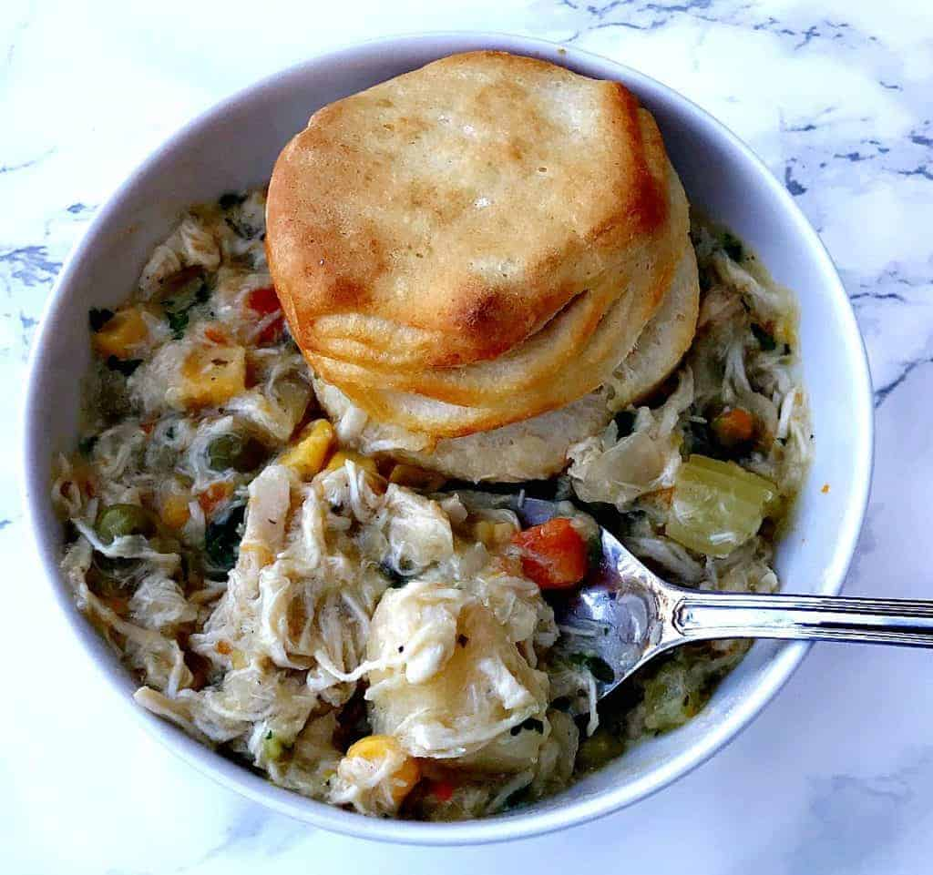 Slow-Cooker Chicken Pot Pie Soup