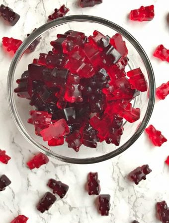 wine gummy bears