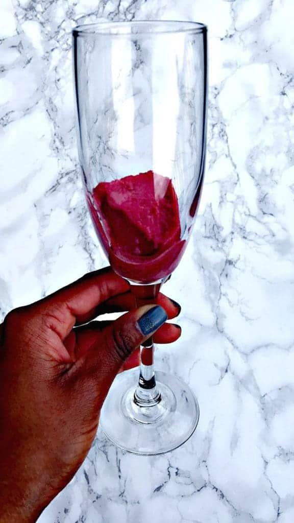 raspberry sorbet mimosa