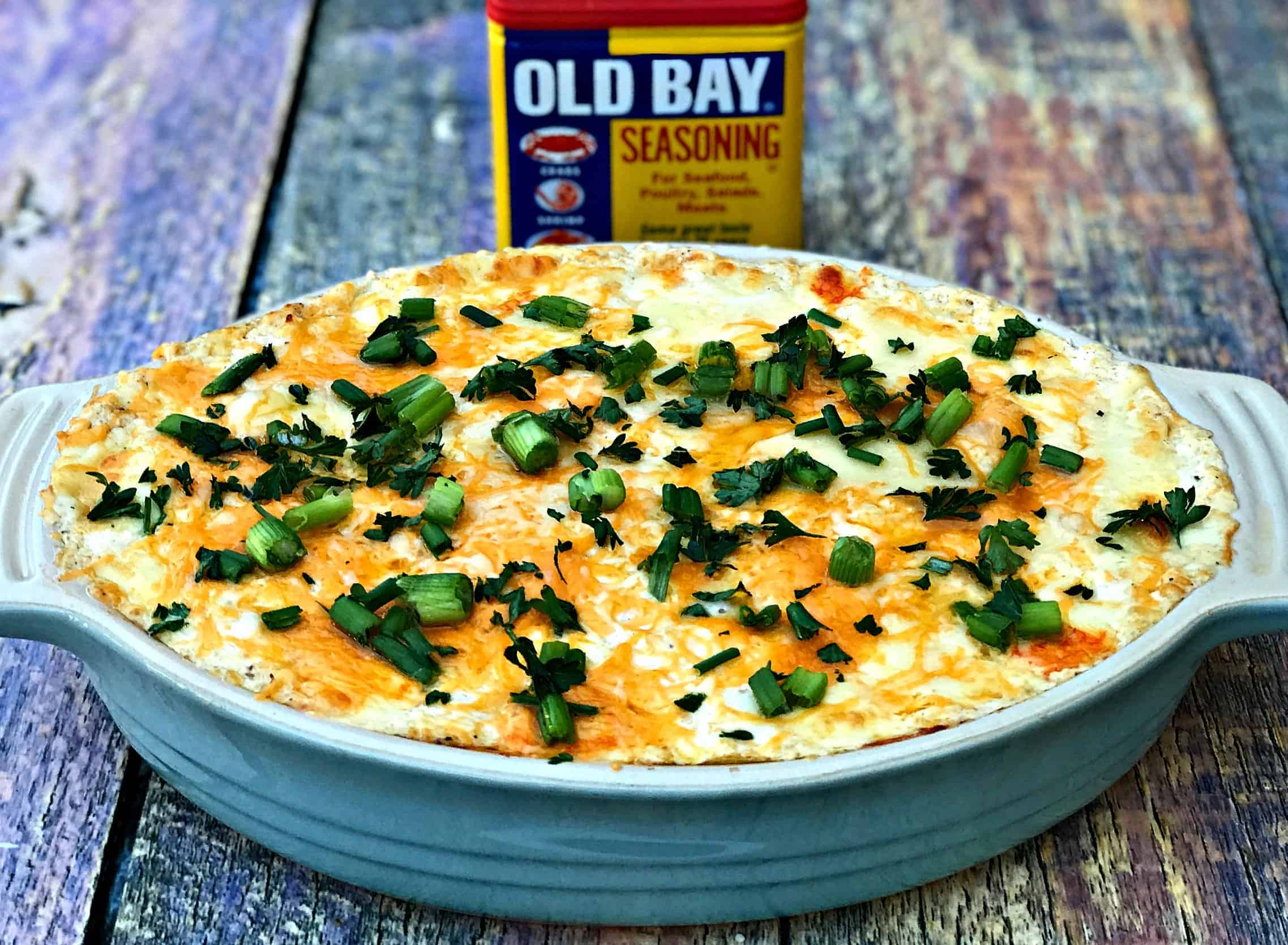 Easy Hot Baked Crab Dip