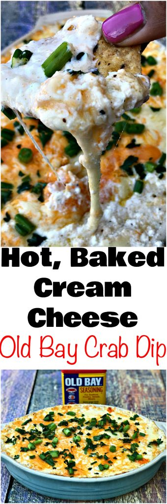 Hot Cream Cheese Old Bay Seafood Crab Dip