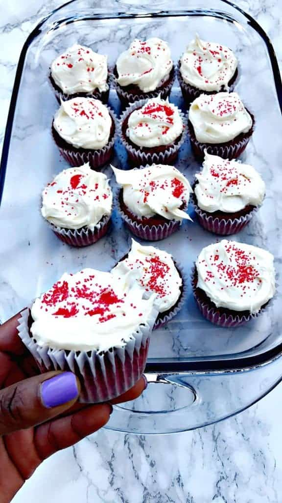 Healthy, Guilt-Free Red Velvet Cupcakes with Reduced-Fat ...
