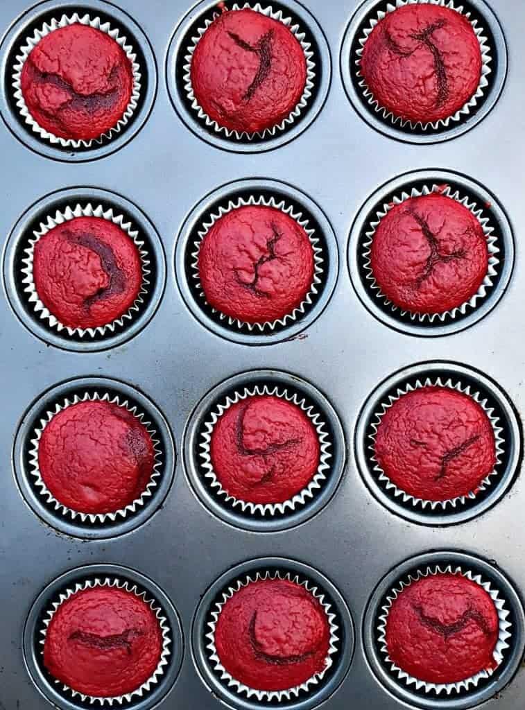 guilt free healthy red velvet cupcakes