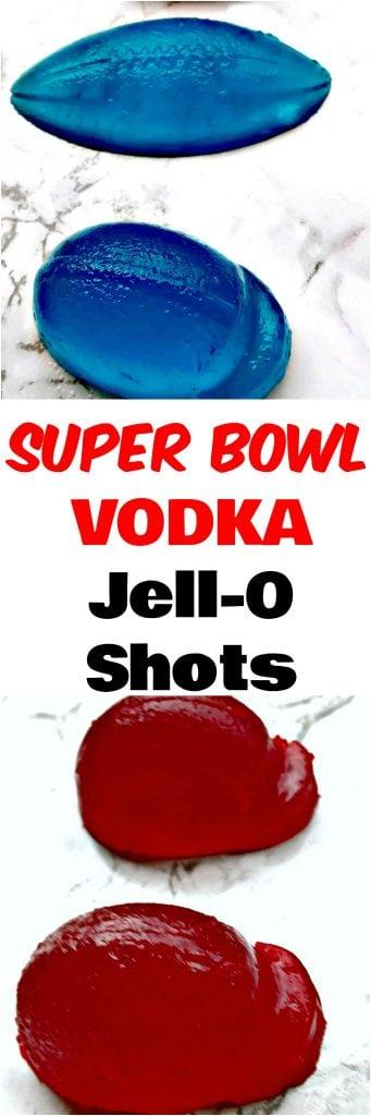 super bowl jello shot footballs and helmets on flat suface