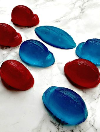 Super Bowl Vodka Jell-O Shots