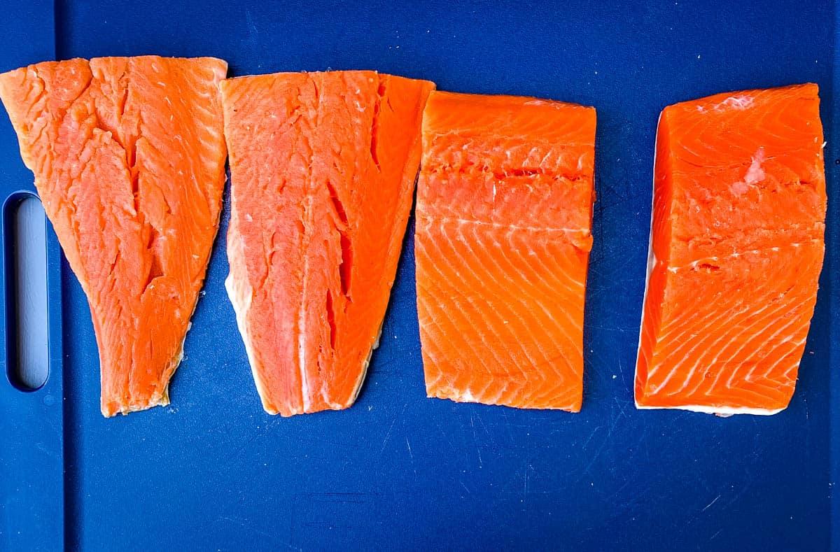 Stuffed Salmon: Crab Stuffed Salmon