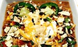 Slow-Cooker Beef Taco Nacho Chili