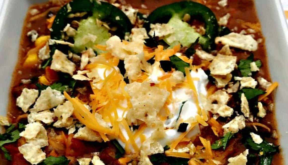 Slow-Cooker Nacho Chili
