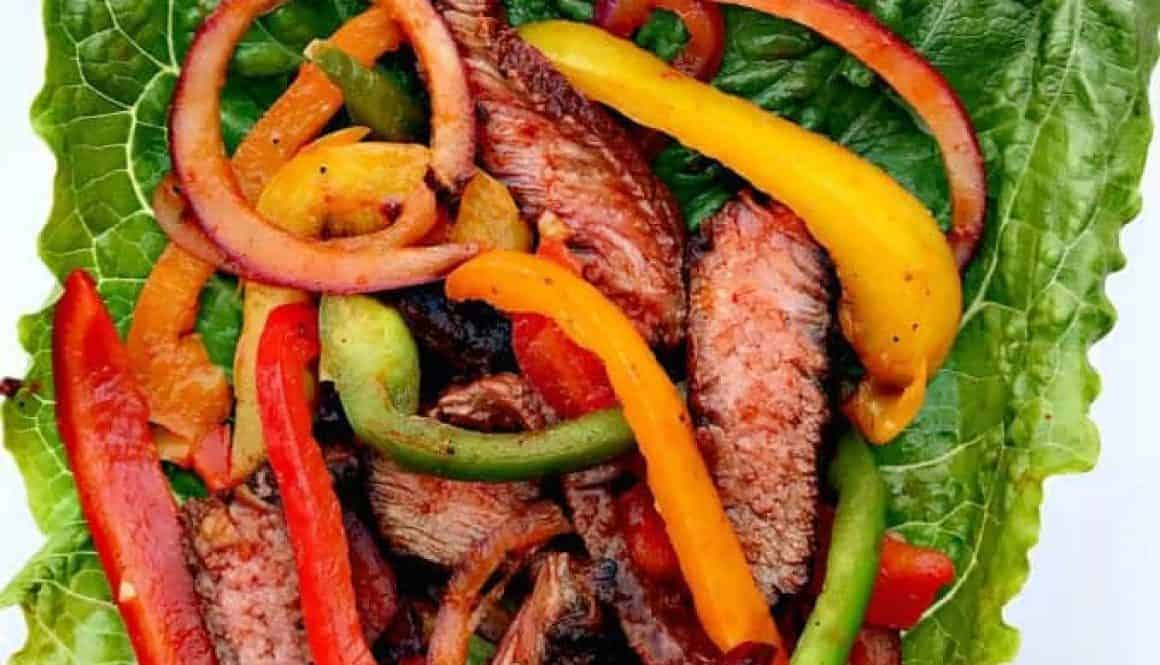 6 delicious quick and easy low carb paleo recipes for dinner carne asada steak lettuce wraps forumfinder Choice Image