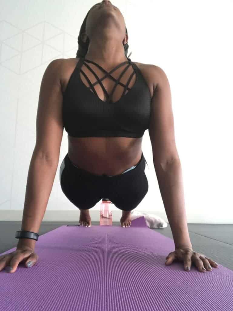 yoga upward facing dog