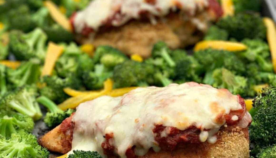 Is wheat healthy get well stay well at home - Healthy Sheet Pan Chicken Parmesan And Broccoli