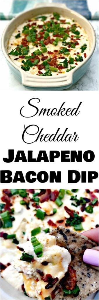smoked cheddar jalapeno bacon dip