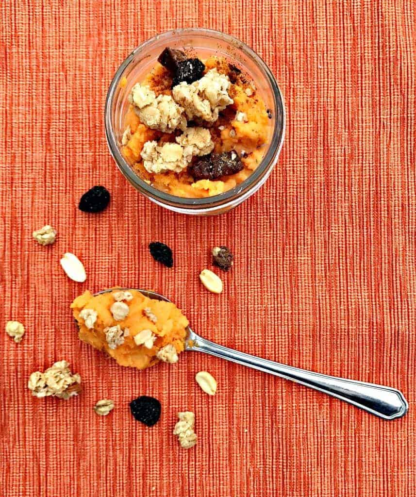 sweet potato overnight oats