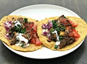Instant Pot 10-Minute Steak Tacos