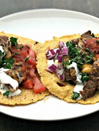 Instant Pot 10-Minute Steak Tacos