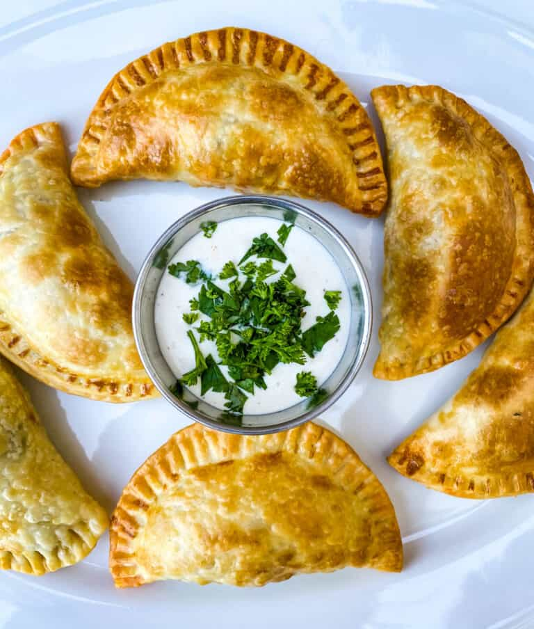 cheese and beef empanadas
