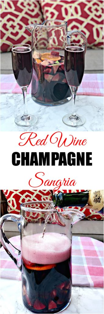 Red Wine Sangria Champagne Mimosas