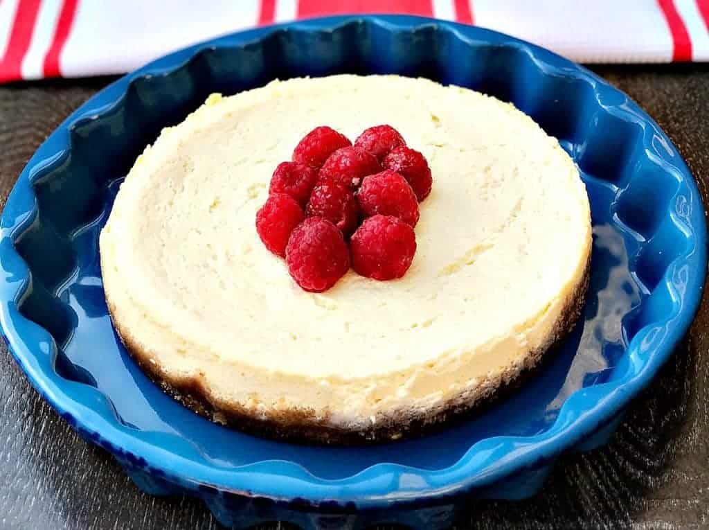 instant pot no-bake cheesecake