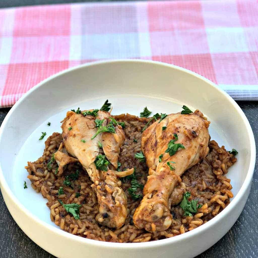 Instant pot chicken drumsticks and rice arroz con pollo forumfinder Gallery