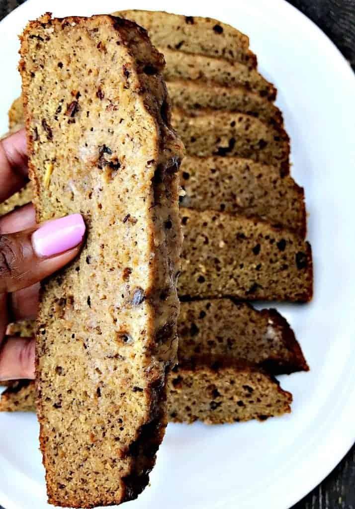 instant pot low carb banana nut bread