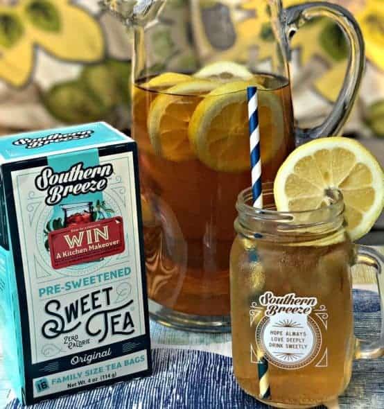 Sweet Tea Lemon Bourbon Cocktail