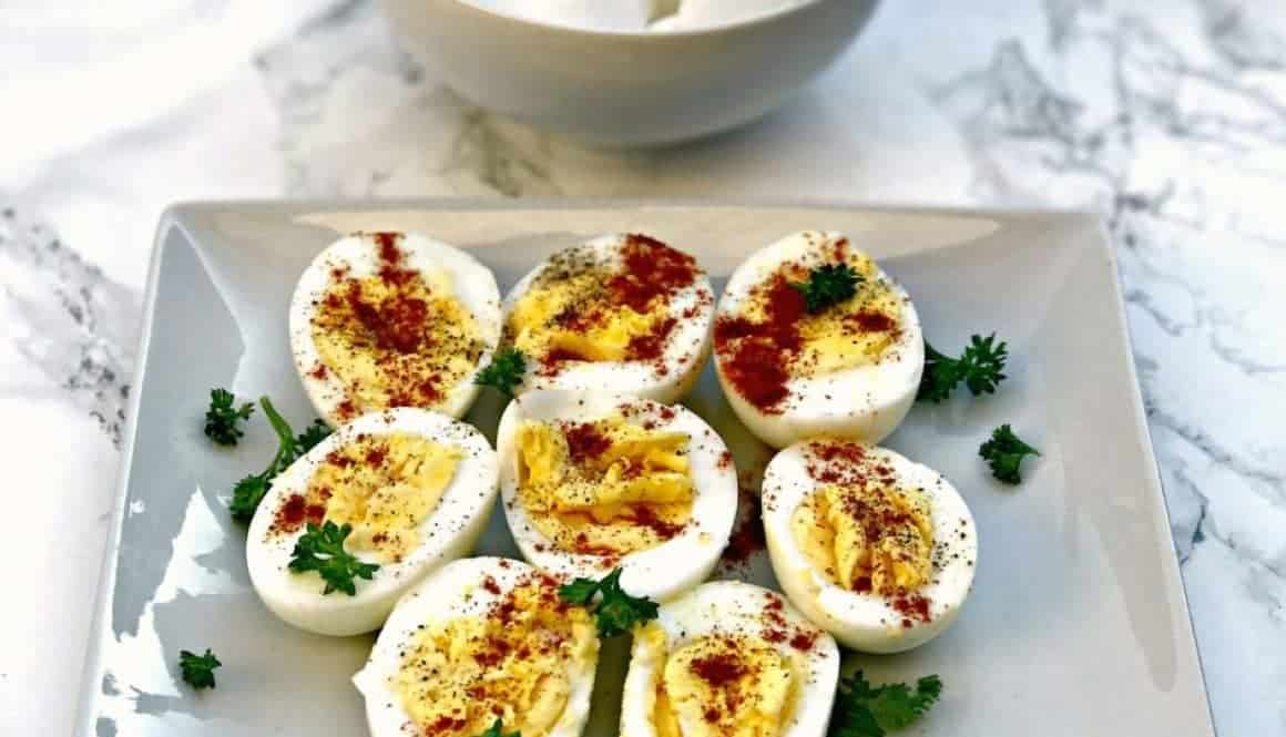 how to make hard boiled eggs using the instant pot