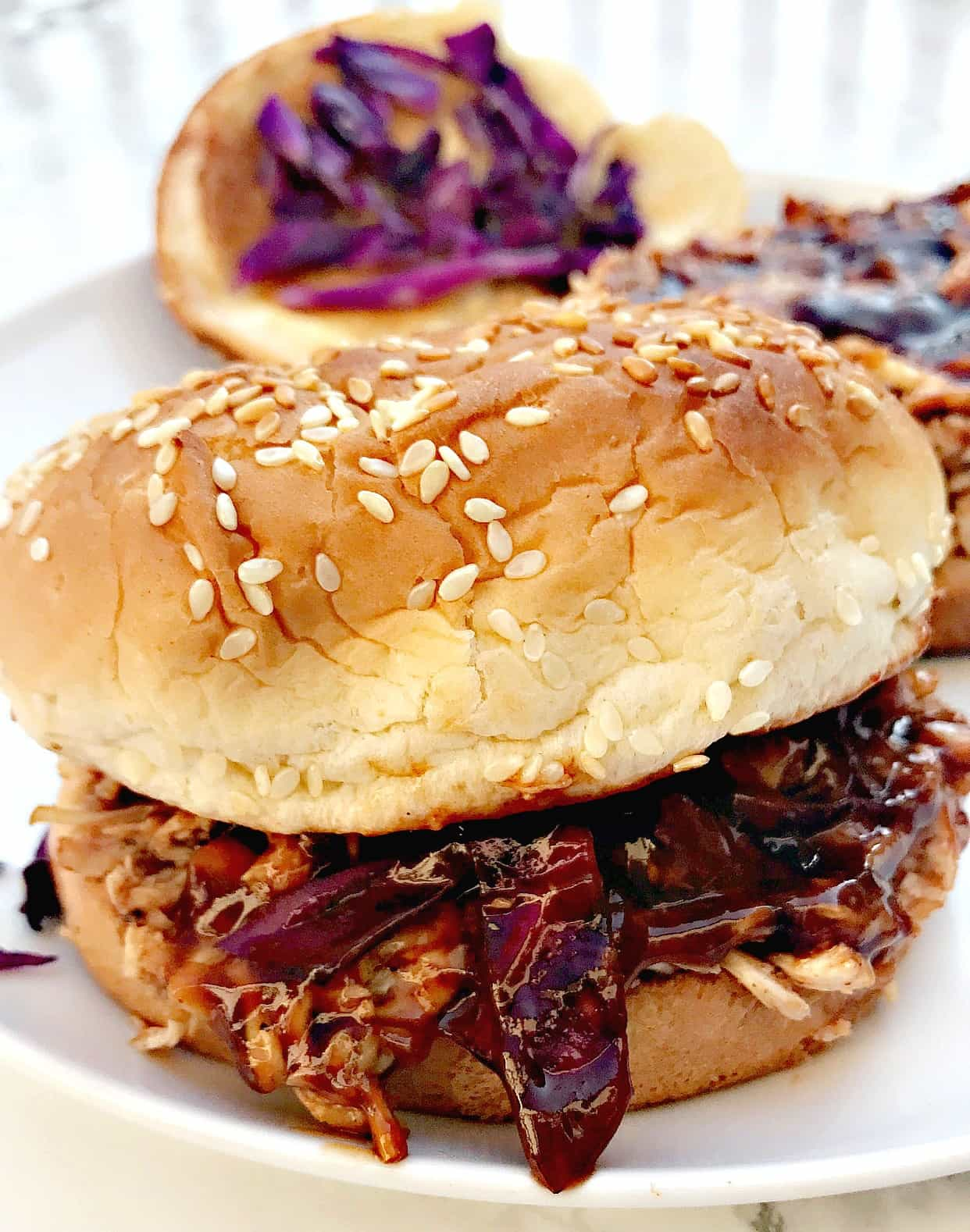 Instant Pot Bbq Pulled Chicken Sandwiches Stay Snatched