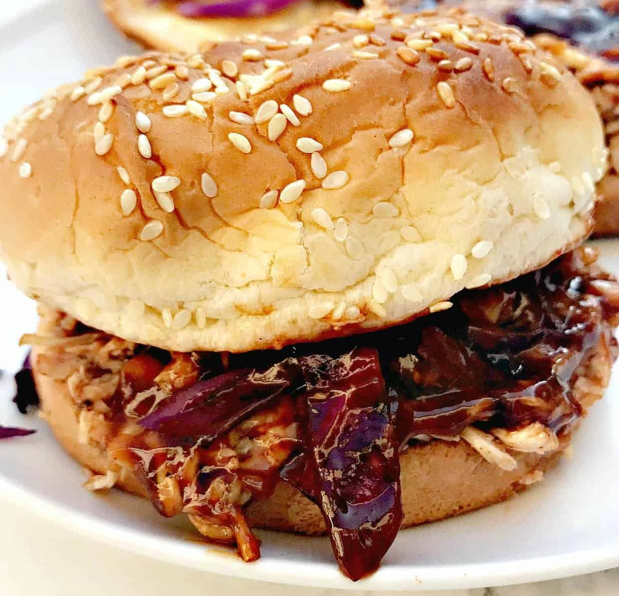 Easy Instant Pot Bbq Pulled Chicken