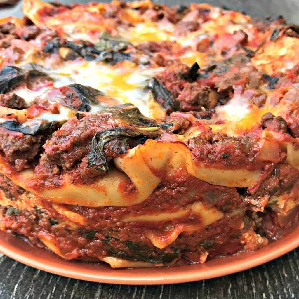 easy instant pot pressure cooker spinach lasagna