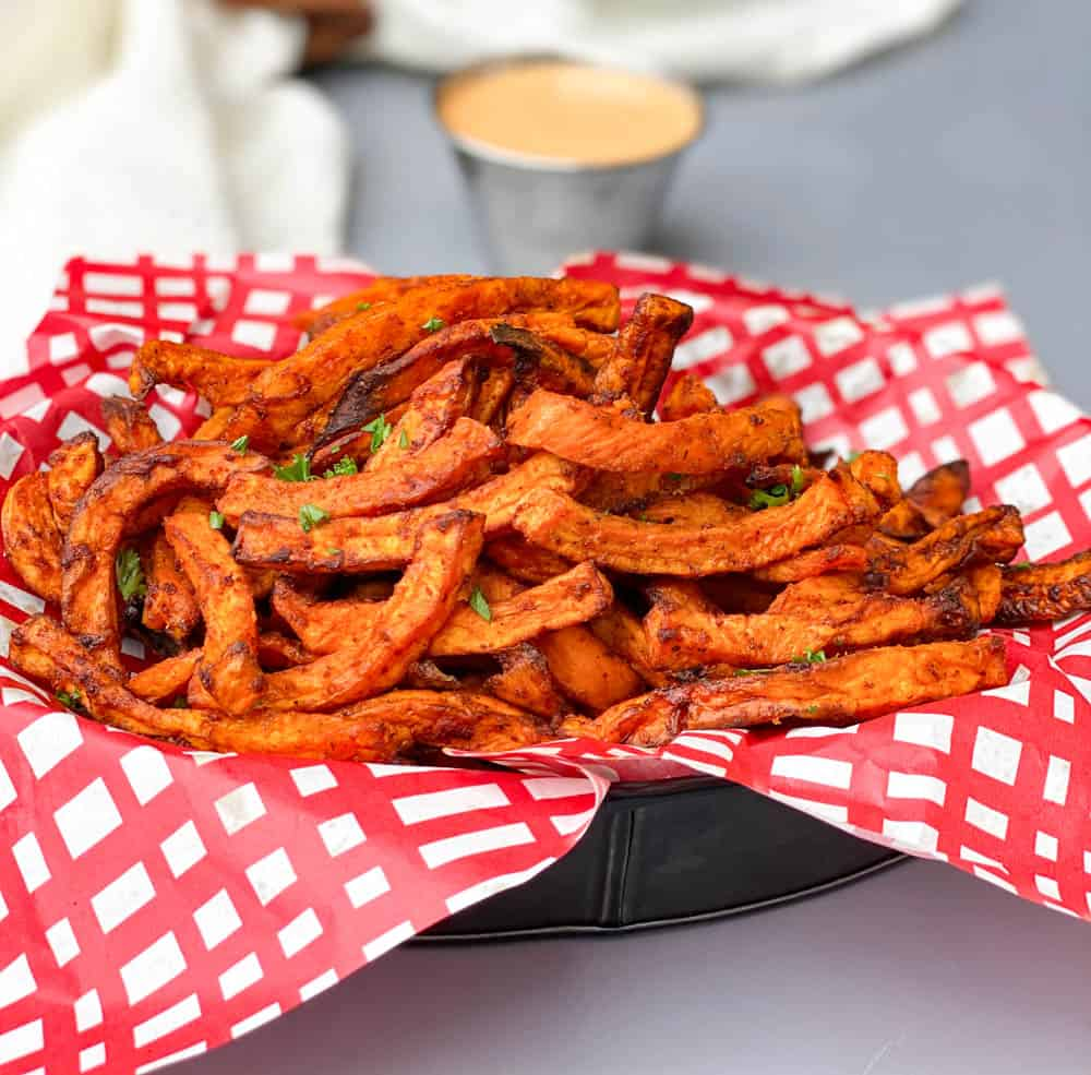 Easy Air Fryer Crispy Crunchy Sweet Potato Fries
