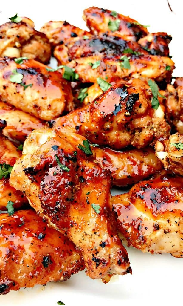 bbq ranch grilled chicken wings