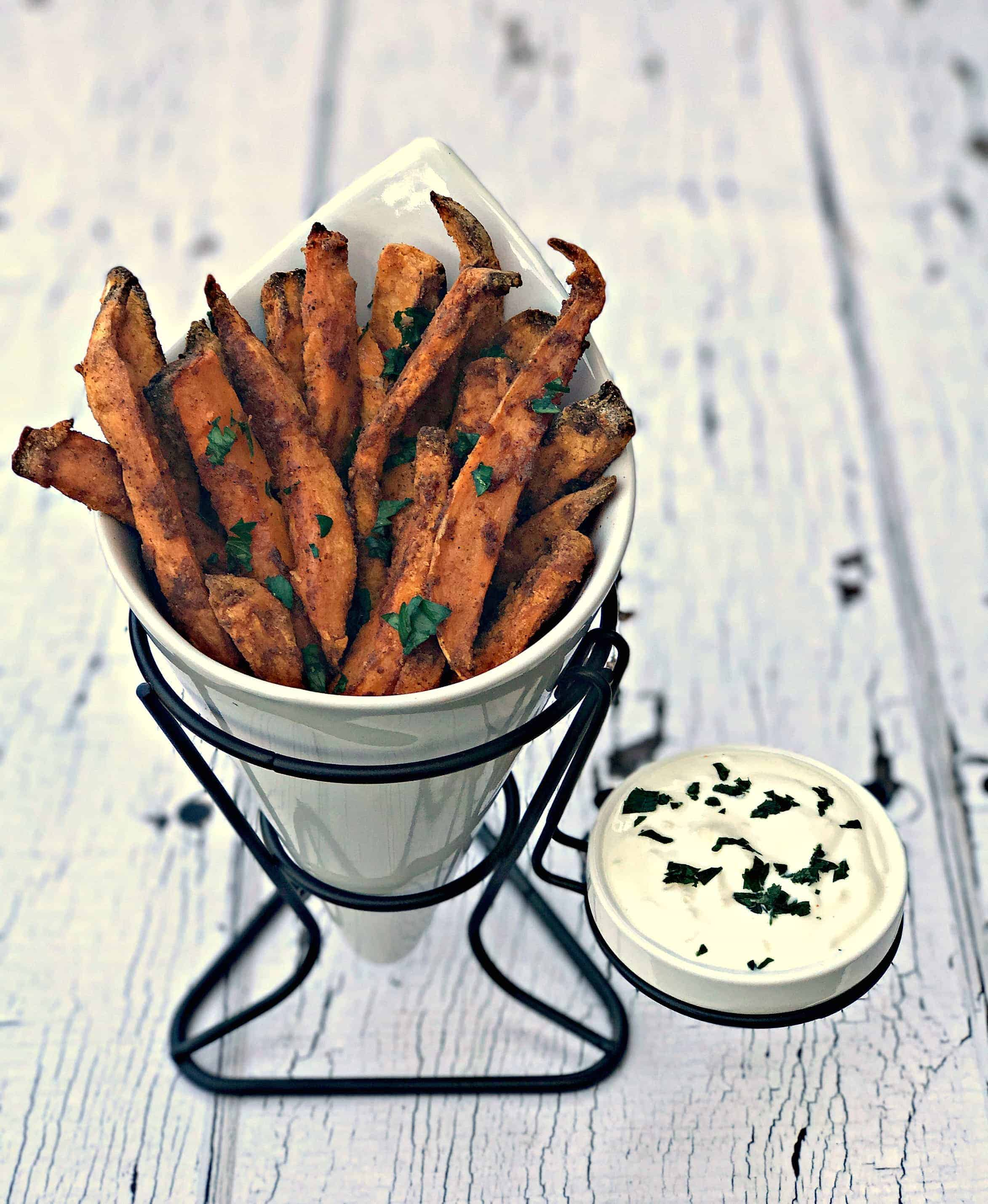 Air Fryer Crispy Crunchy Sweet Potato Fries