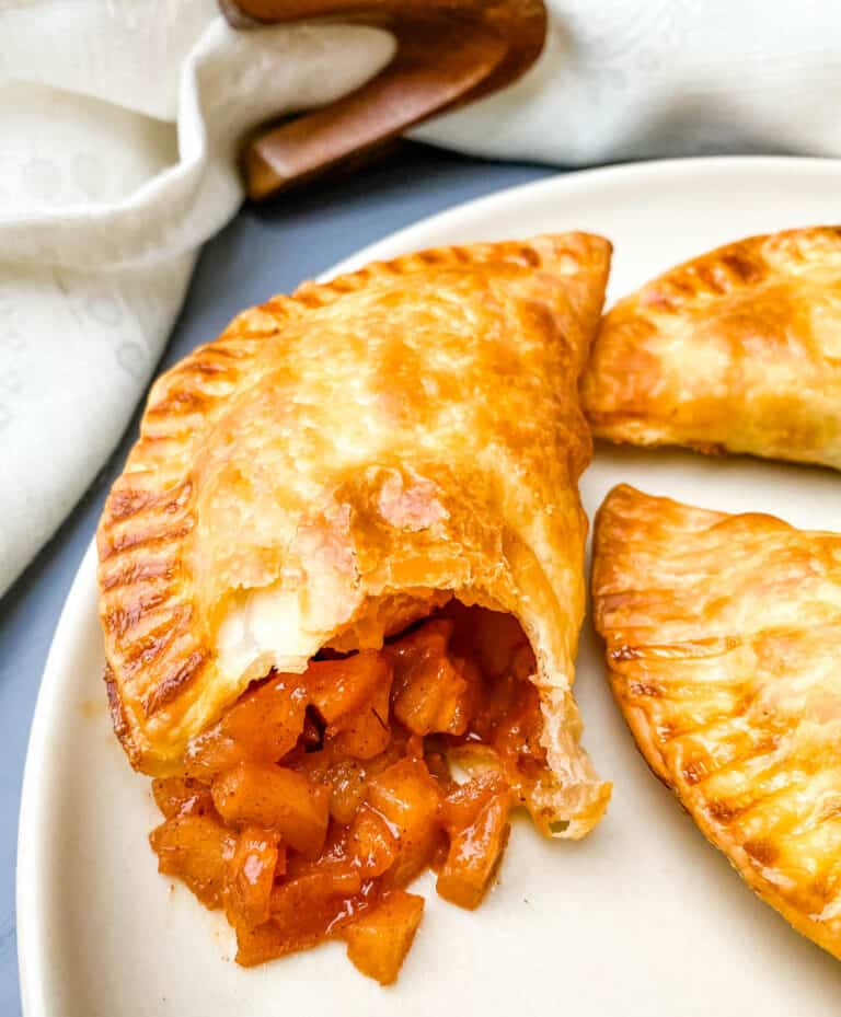 Air Fryer Apple Cinnamon Dessert Empanadas