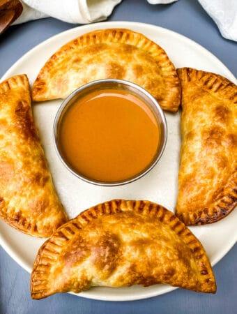 Air Fryer Apple Cinnamon Dessert Empanadas (Hand Pies)