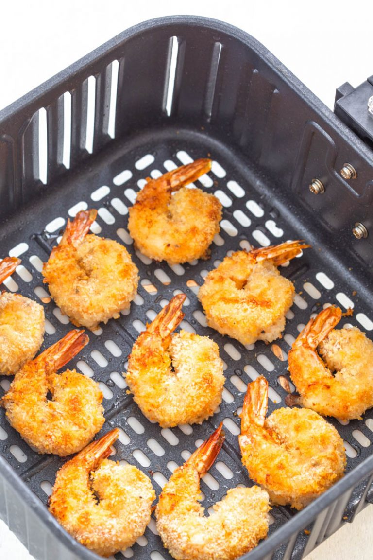 Air Fryer Bang Bang Panko Breaded Fried Shrimp