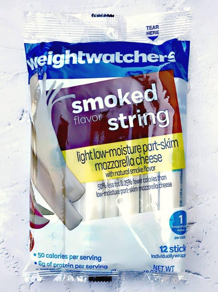 Air Fryer Low-Fat Weight Watchers Mozzarella Cheese Sticks