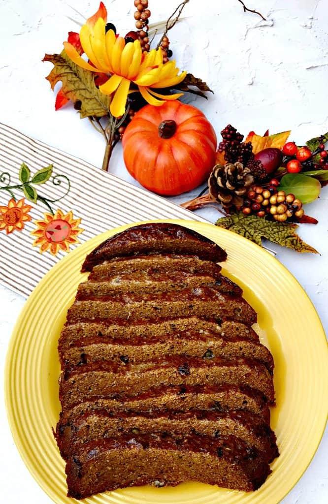Instant Pot Low-Carb Pumpkin Spice Bread
