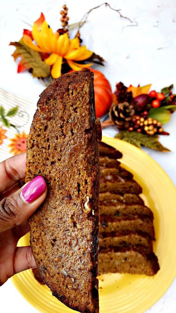 Instant Pot Low-Carb Pumpkin Spice Bread