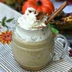 instant pot starbucks copy cat skinny pumpkin spice latte