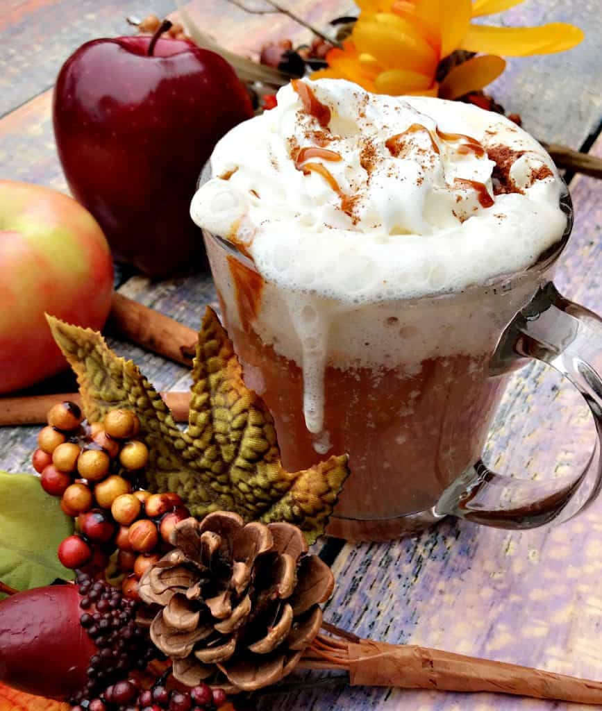 Instant Pot Slow-Cooker Skinny Copy-Cat Starbucks Caramel Apple Cider