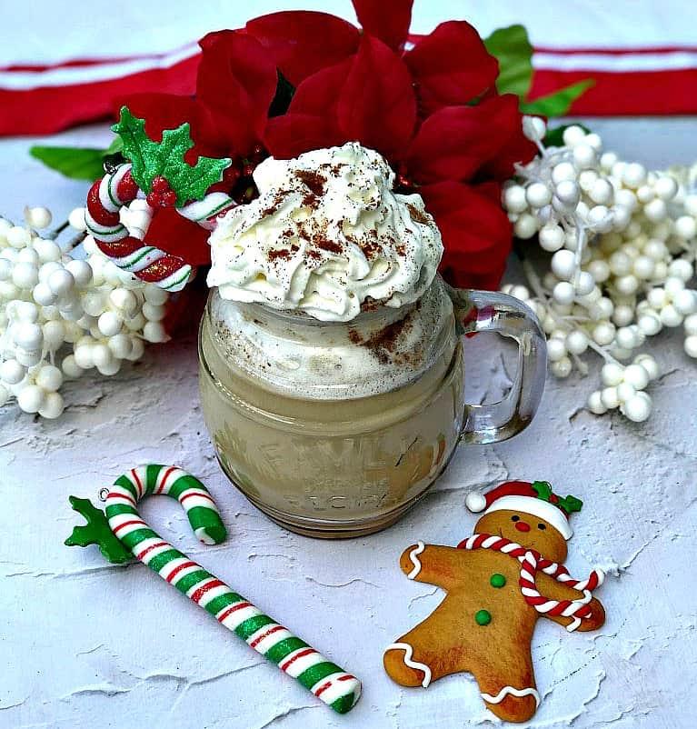 Instant Pot 100 Low-Calorie Copy-Cat Starbucks Gingerbread Latte