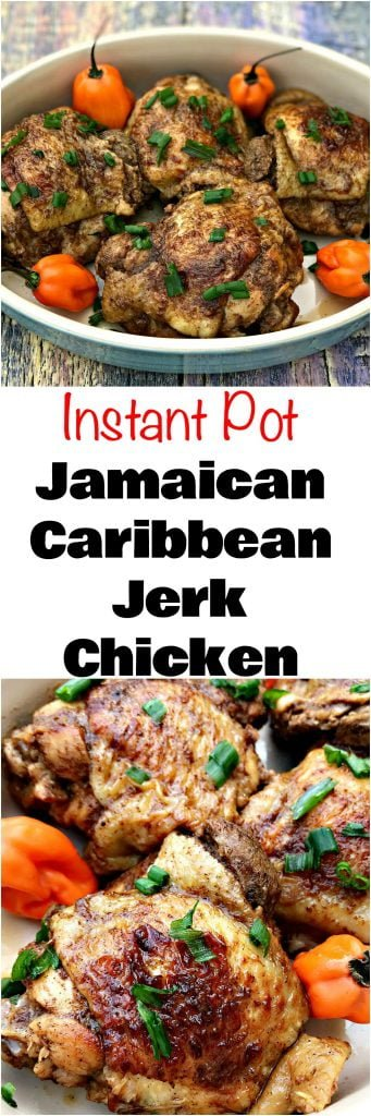 Instant pot jamaican jerk chicken thighs more instant pot recipes forumfinder Image collections