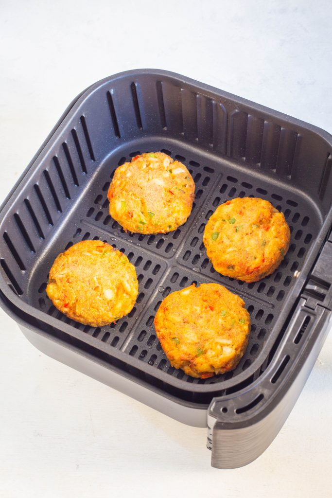 crab cakes in air fryer