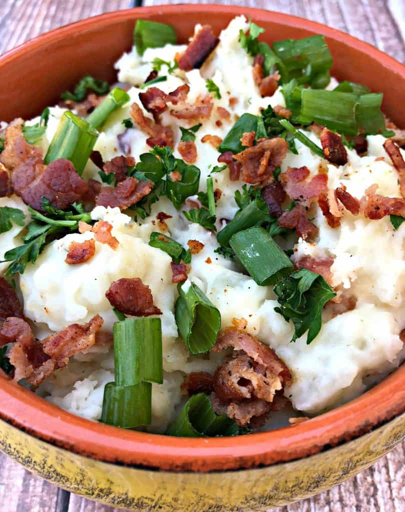 Instant Pot Mashed Potatoes with Bacon